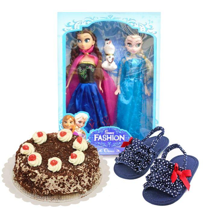 Doll Set, Cake & Sandals