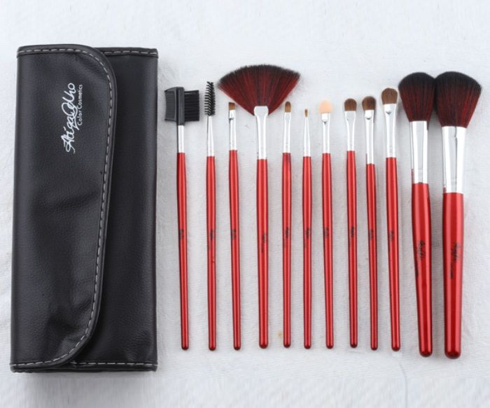 12 Pcs Make-up Brush Kit By Atiqa Odho (Lolly