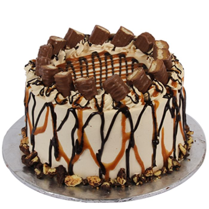 Twix Cake From Sacha's Bakery