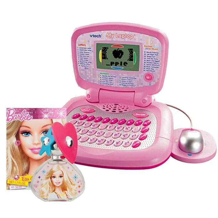 Laptop With Barbie Perfume