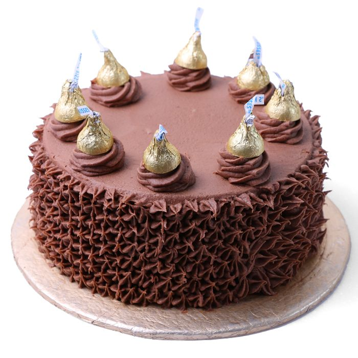 Hershey's Kisses Cake From Donutz Gonutz Bake