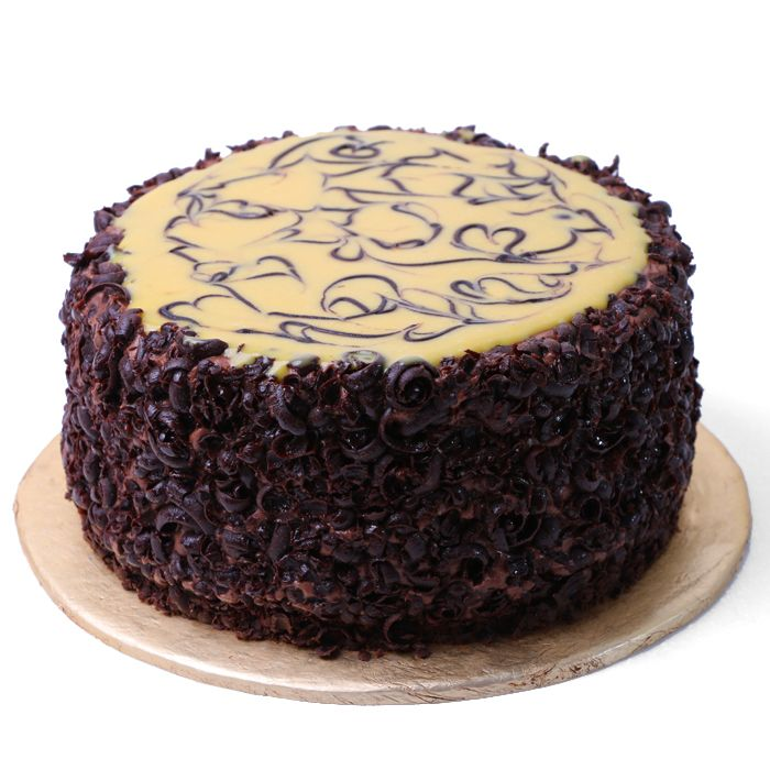 Caramel Chocolate Cake From Donutz Gonutz