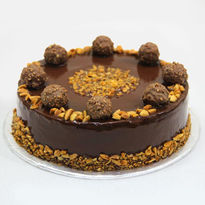 Ferrero Rochers Cake From Donutz Gonutz