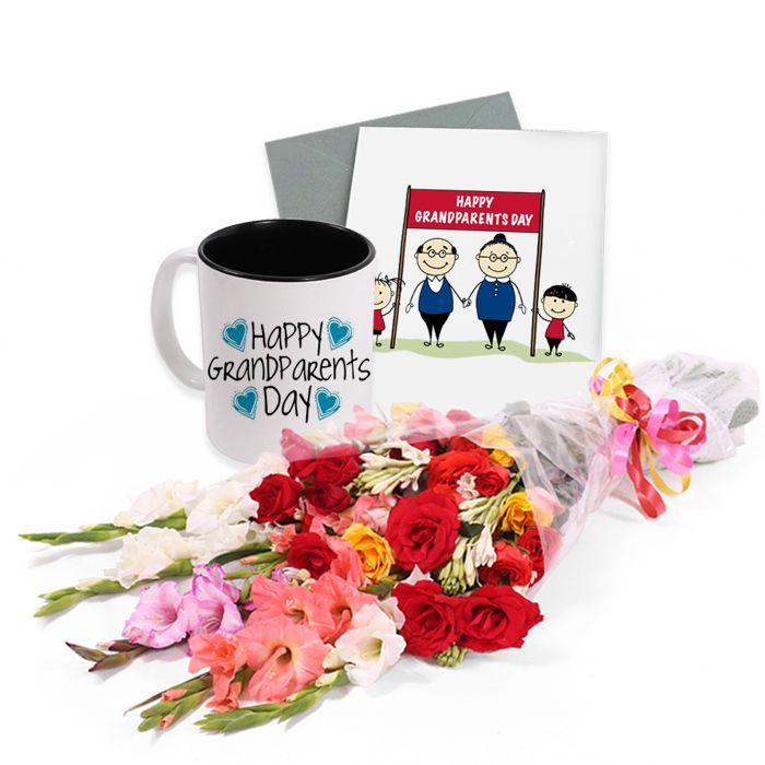 Medium Bouquet With Mug & Card