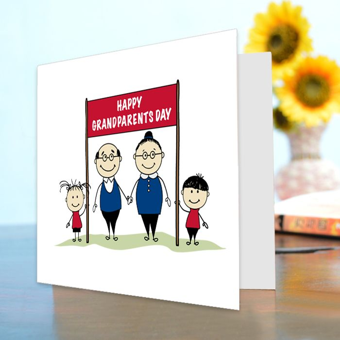 Happy Grand Parent's Day Card