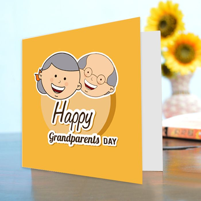 Happy Grand Parent's Day Card II