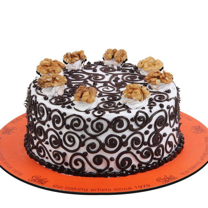 Choco Walnut Cake From Sacha's Bakery