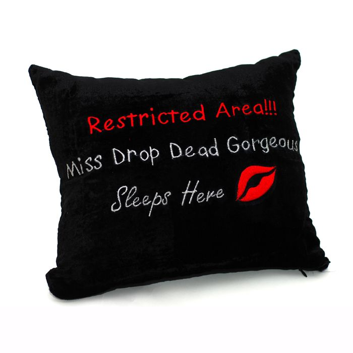 Restricted Area Cushion