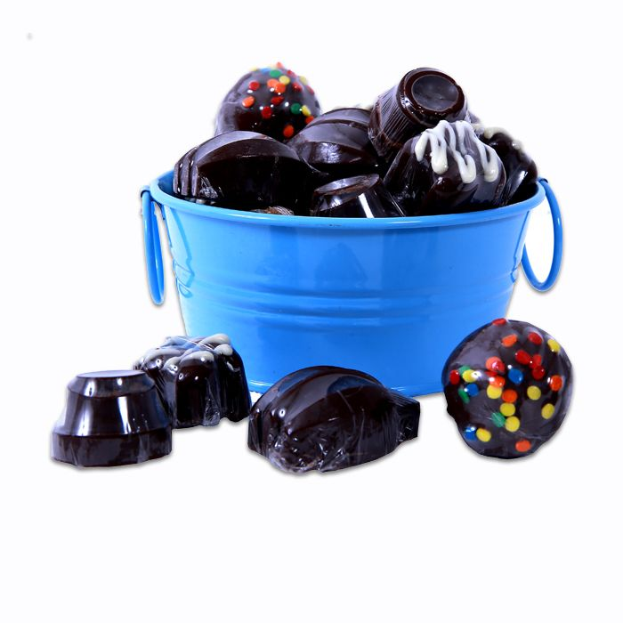 Assorted Chocolates in a Tub