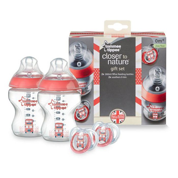 British Bottle Set