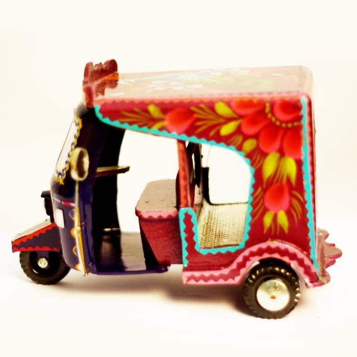 Rickshaw as a Showpiece
