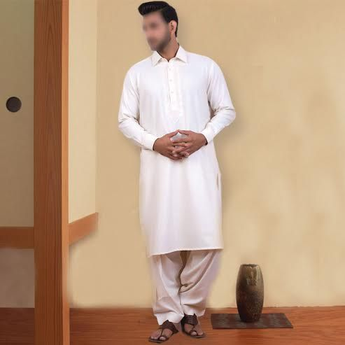 Khaadi Off White Kurta Shalwar Suit