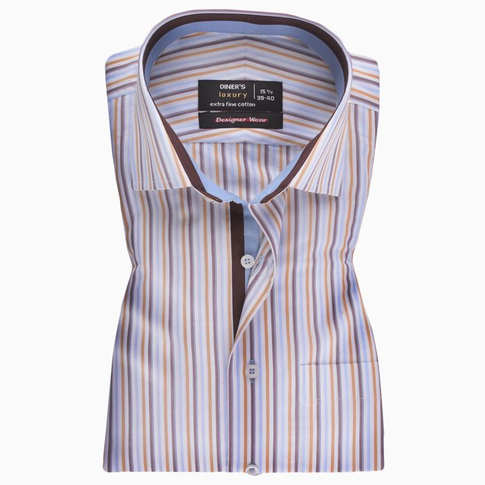 Formal Multi Striped Shirt