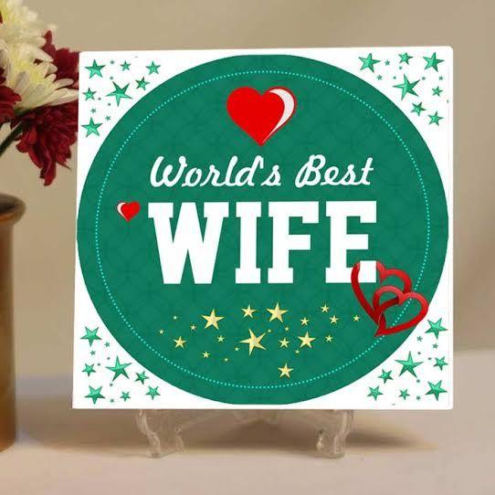 World Best Wife Tile
