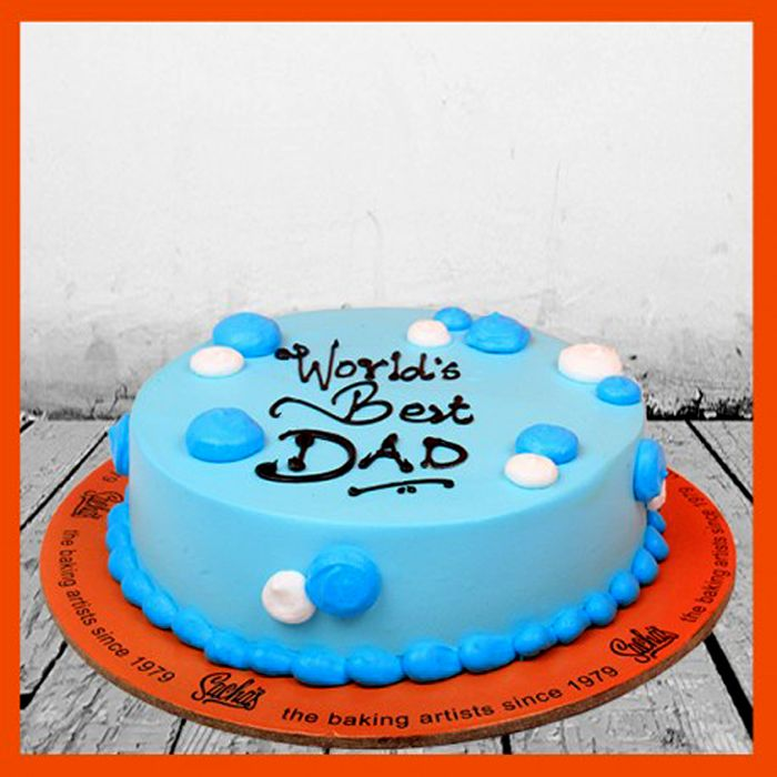 Worlds Best Dad Cake