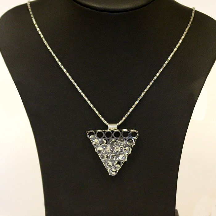 Triangle Shaped Necklace Set