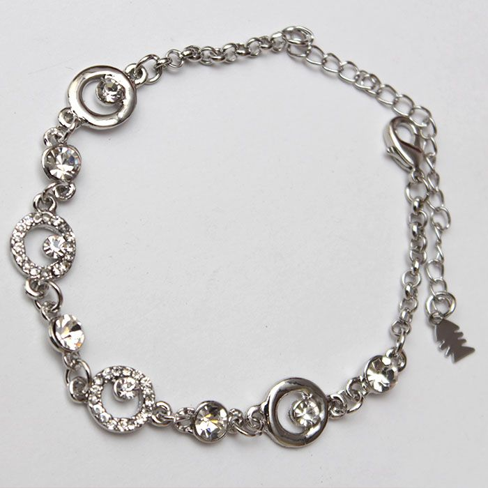 Circular Charms Bracelet