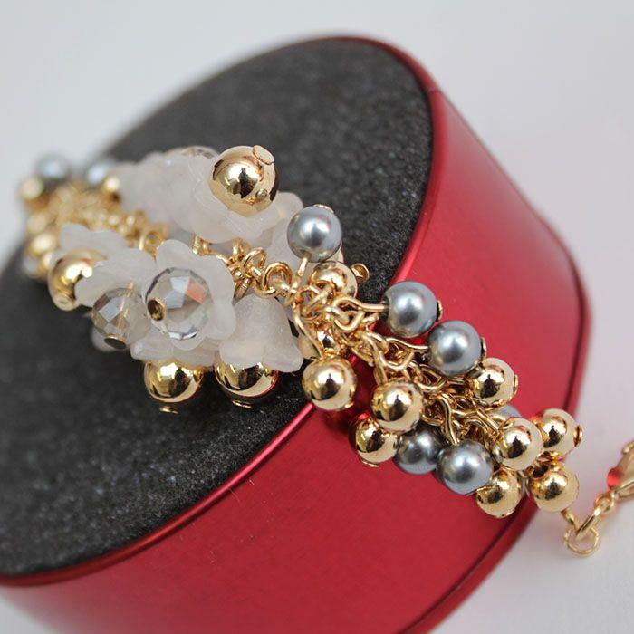 Crystal Balls Bracelet