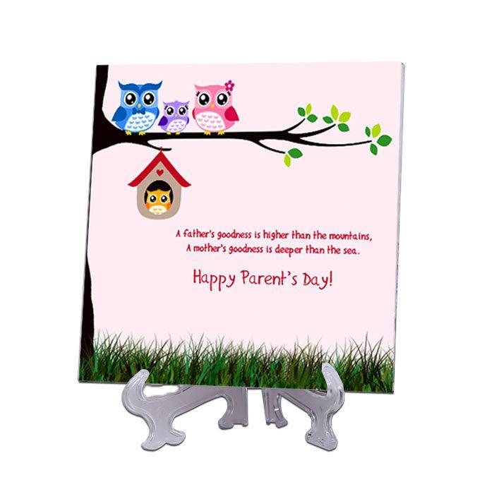 Happy Parents Day Tile