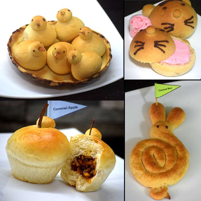 Sweet Flavoured & Filled Buns (Pack of 6)