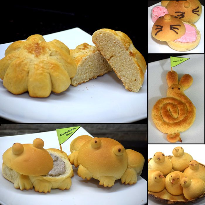 Assortment of 12 Sweet Buns