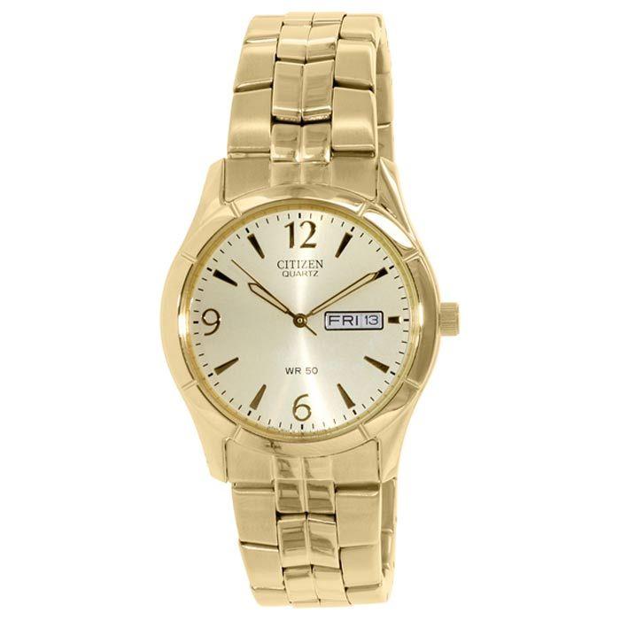 Citizen Gold Stainless-Steel Quartz Watch