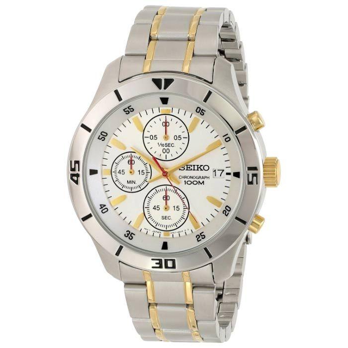 Seiko Men Chronograph Watch