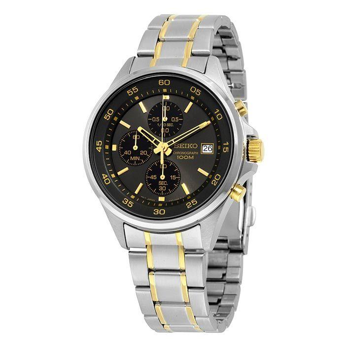 Seiko Chronograph Quartz Watch For Men