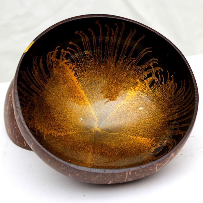 Set of Imported Vietnamese Lacquered 2 Bowls