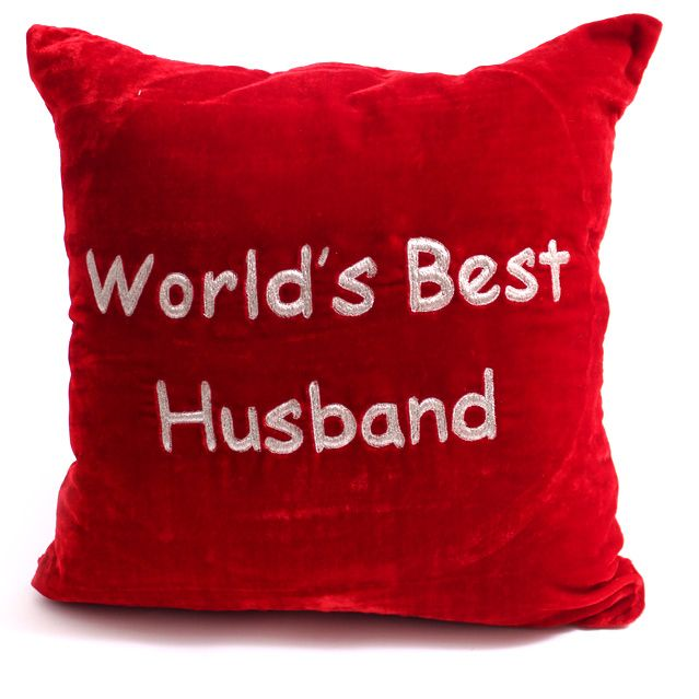 World's Best Husband Pillow