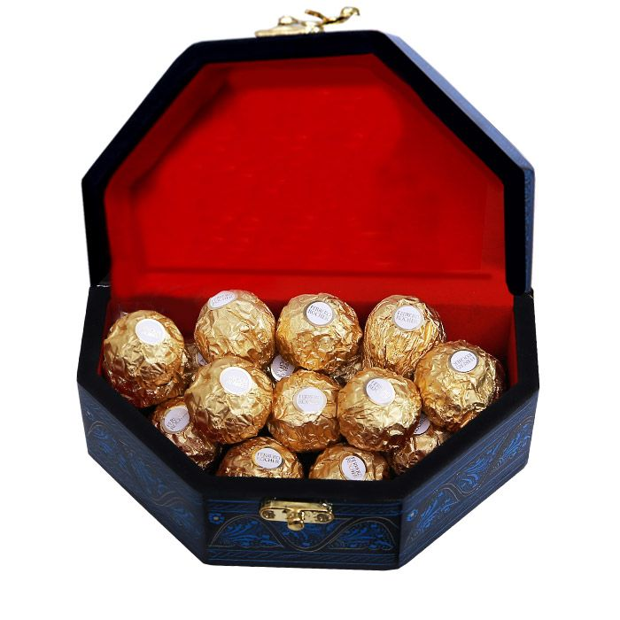Ferrero In A Treasure Box