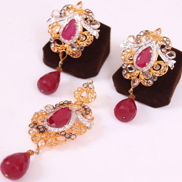 Crown Jewellery Set