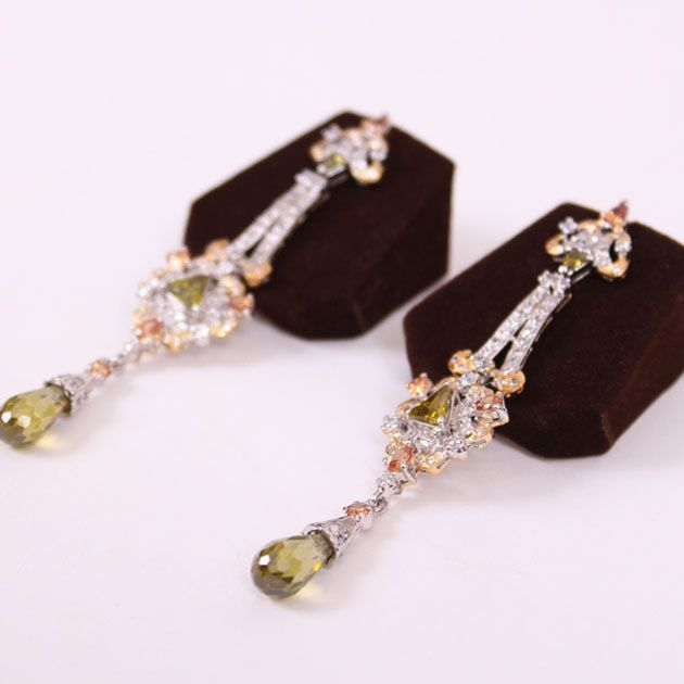 Triangular Top Earrings