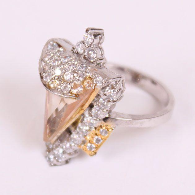 Triangular Stone Ring