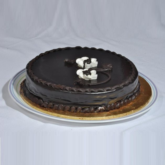 Chocolate Fudge Cake From Bakery