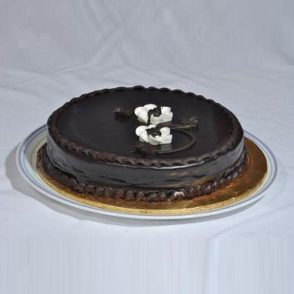Chocolate Fudge Cake From Bakery