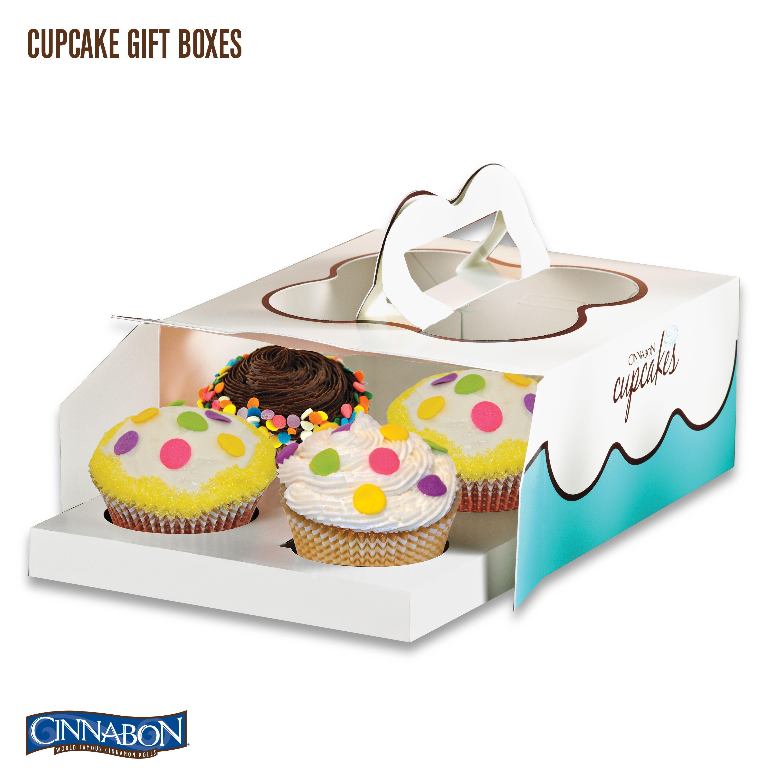Cinnabon Cupcake Boxes