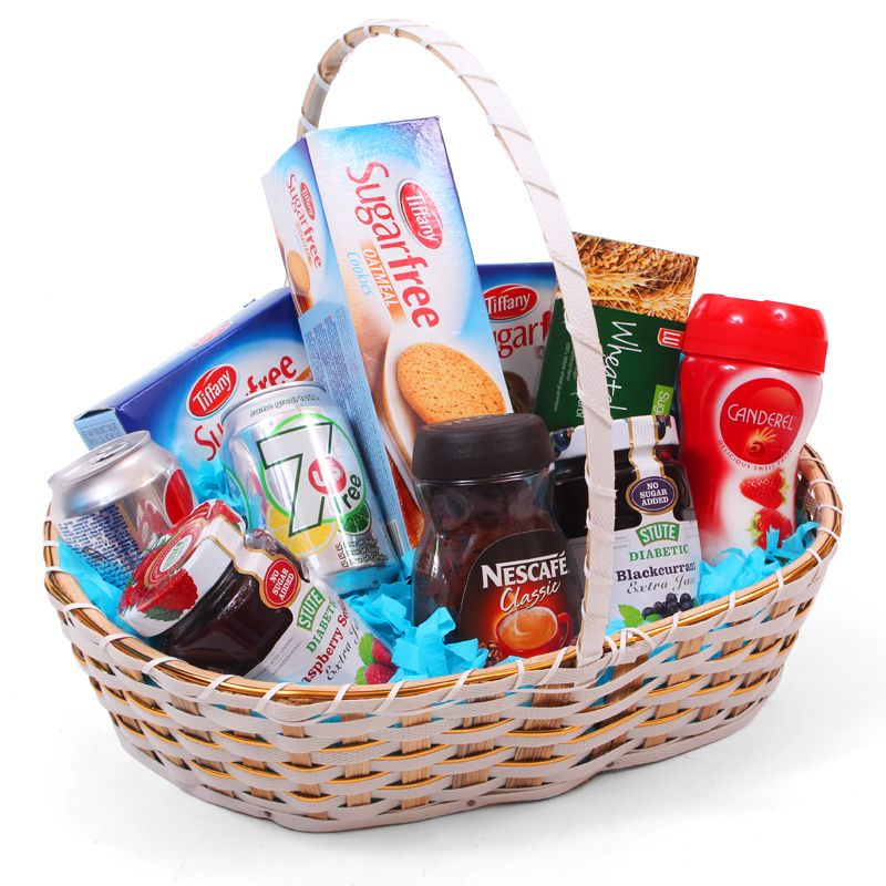 Tohfay send gifts baskets to pakistan sugar free gift basket negle Images