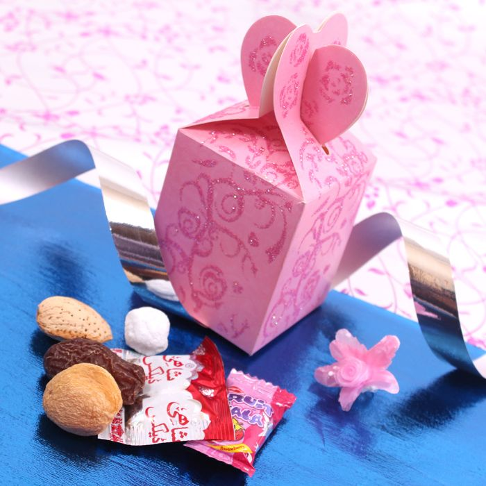Heart Wedding Favour Box