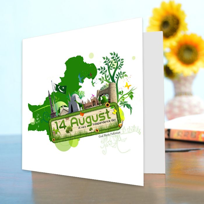 14th August Greeting Card