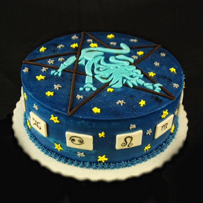 Leo Zodiac Cake