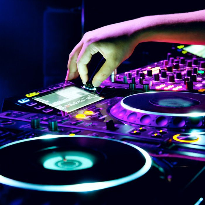 Hire a DJ with Dance Floor for your Event