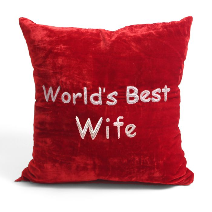 World's Best Wife Cushion
