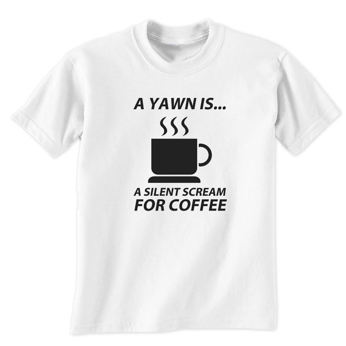 Silent Scream For Coffee Lovers T-Shirt