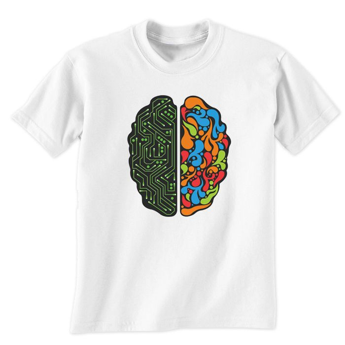 Brainy Men T-Shirt