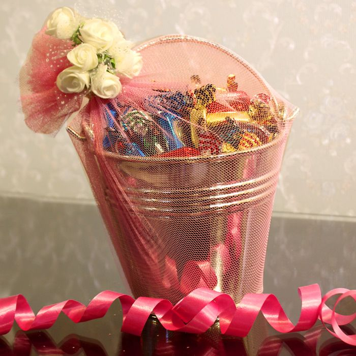 Tiffany Candies Bucket