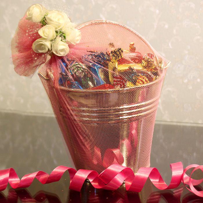 Tiffany Candies Bucket