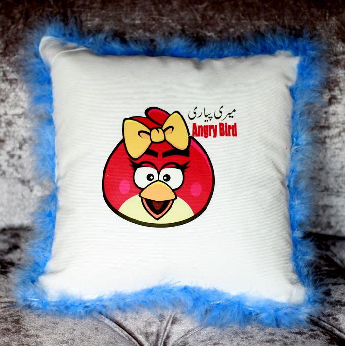 Meri Pyari Angry Bird Cushion