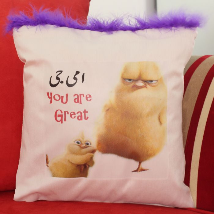 Ammi Jee You Are Great Cushion