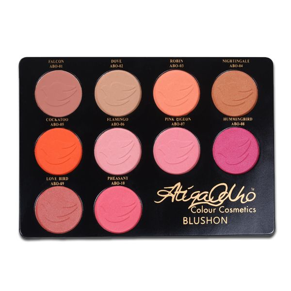 10 Colours Blush-On Kit